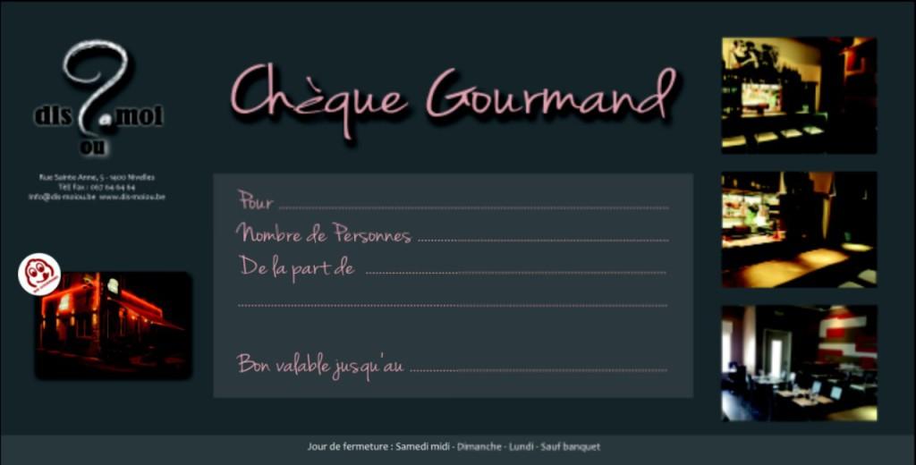 chequegourmand